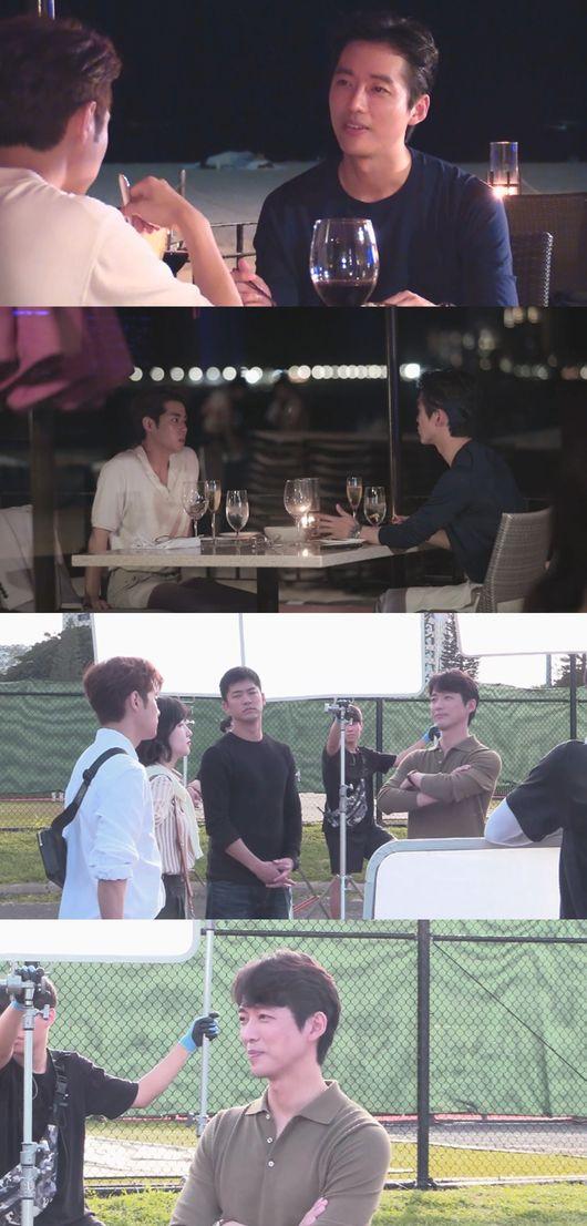[사진=MBC 제공] SBS 새 드라마 '스토브리그'에 함께 출연하는 남궁민과 조병규가 첫 촬영 현장을 '나 혼자 산다'에서 공개한다.