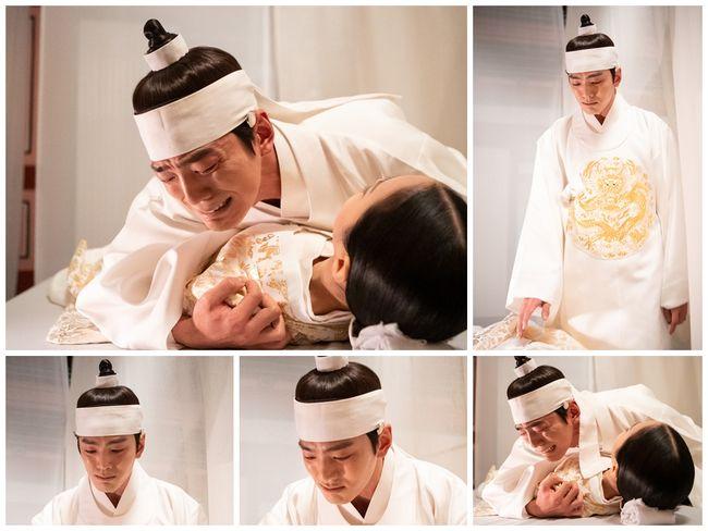 [사진=TV조선 제공] 배우 김민규가 '간택-여인들의 전쟁'에서 오열 연기를 펼친다.