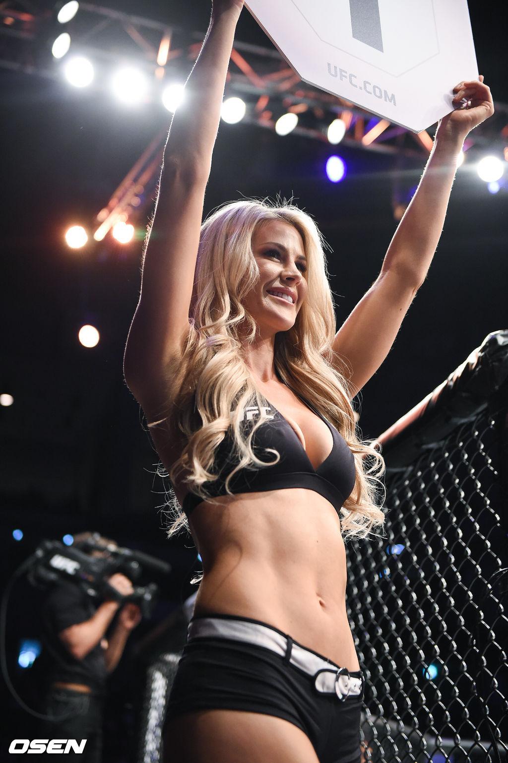 [사진]섹시한 UFC 옥타곤걸