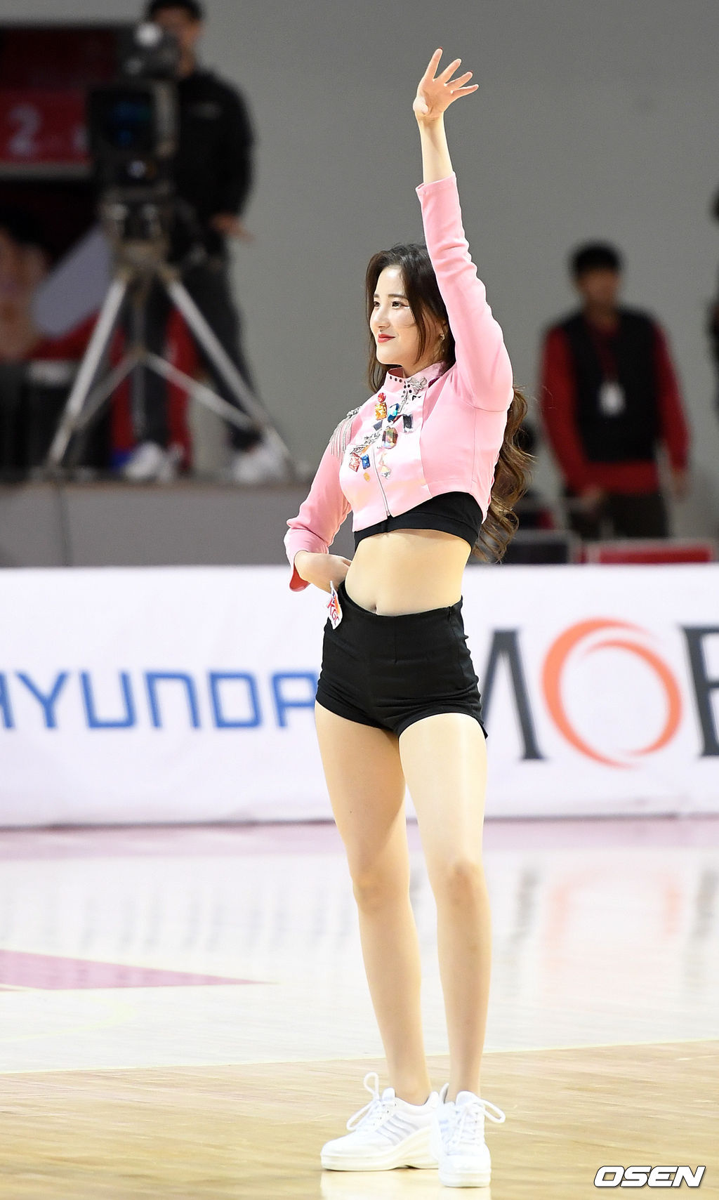 [사진]치어리더 김해리,'완벽한 피날레'