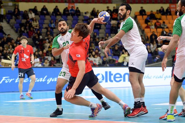 남자 핸드볼, 제19회 아시아선수권대회 참가