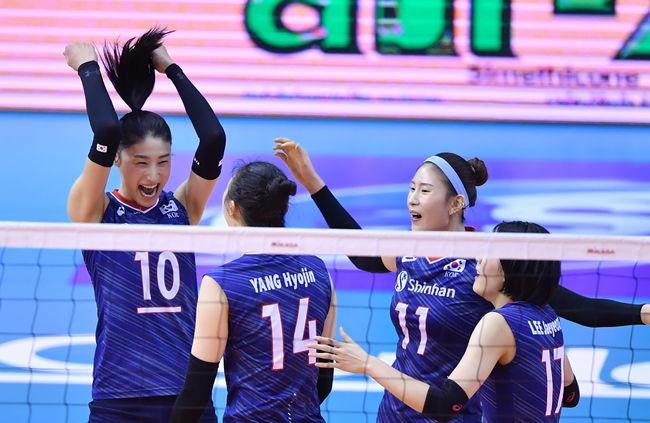 '가자! 도쿄로' 한국 女배구, 태국 셧아웃 3연속 올림픽 진출 [오!쎈 리뷰]