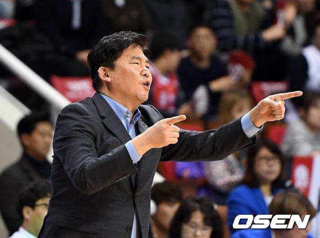 KBL,불성실 KGC 김승기 감독에 1G출전정지-1000만원 징계