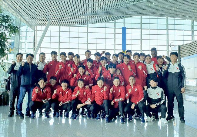 이제는 K리그1 부산, 태국으로 동계 전지 훈련