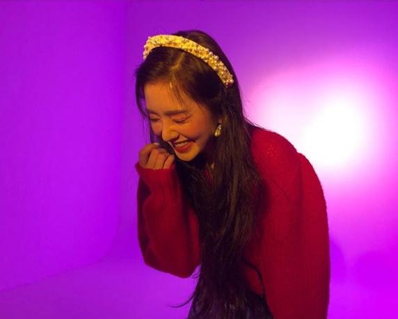 ''웃으니 더 예뻐''…레드벨벳 아이린, 인형의 미소 [★SHOT!]