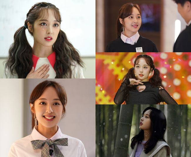 터치 김보라, '심쿵 유발' 매력 포인트3 #긍정 아이콘 #재능부자 #케미 장인