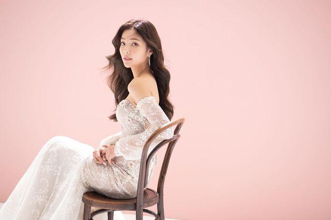 '오창석♥' 이채은, 순백 웨딩드레스 자태…레드벨벳 아이린 닮았네 [★SHOT!]