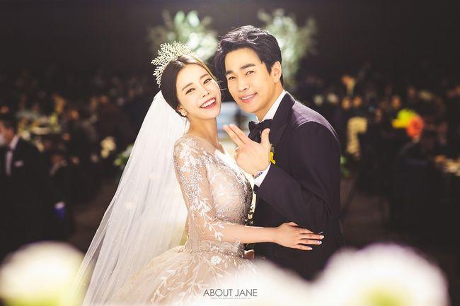 장기영♥박혜정, 부부 되는 날..본식 화보 공개?'행복한 미소'[화보]