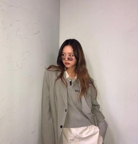 혜리, 선글라스로 꽉찬 얼굴..최강의 패션 센스 [★SHOT!]