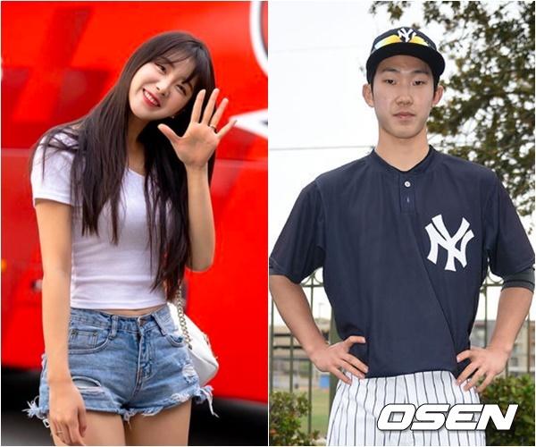 [사진=안지현 SNS, OSEN DB] 치어리더 안지현이 야구선수 박효준과의 두 번째 열애설을 부인했다.
