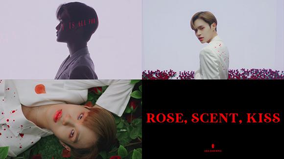 AB6IX 이대휘, 솔로곡 'ROSE, SCENT, KISS' 티저 공개..매혹적 눈빛