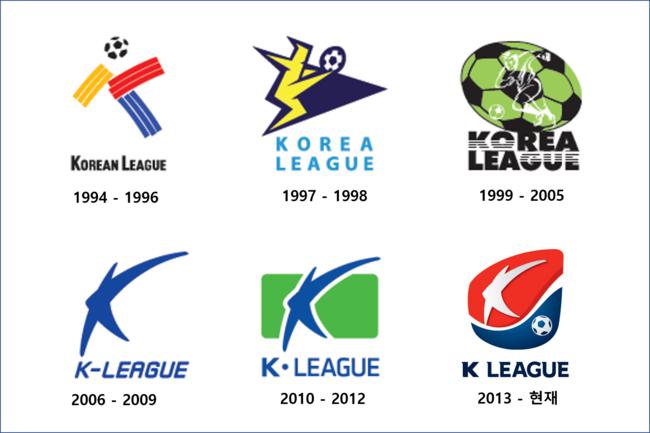 K리그 엠블럼, 1994부터 2020까지 변천사
