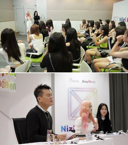 JYPx소니뮤직 니지 프로젝트, 27일 파트1 최종회..모모·사나 깜짝 등장