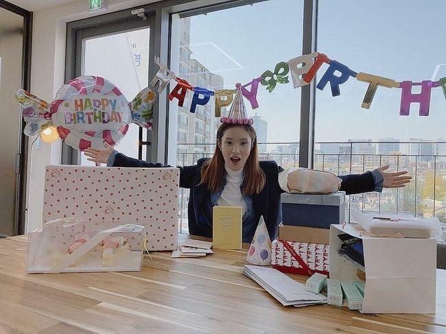 조정석♥ 거미, 임신 중 맞이한 생일…행복 미소 [★SHOT!]