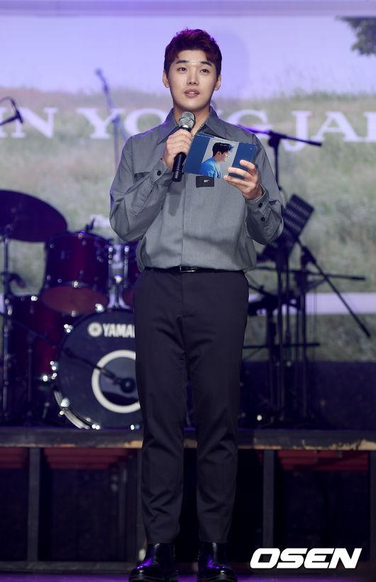 [사진]권혁수,신용재 정규앨범 쇼케이스 MC는 바로 저에요