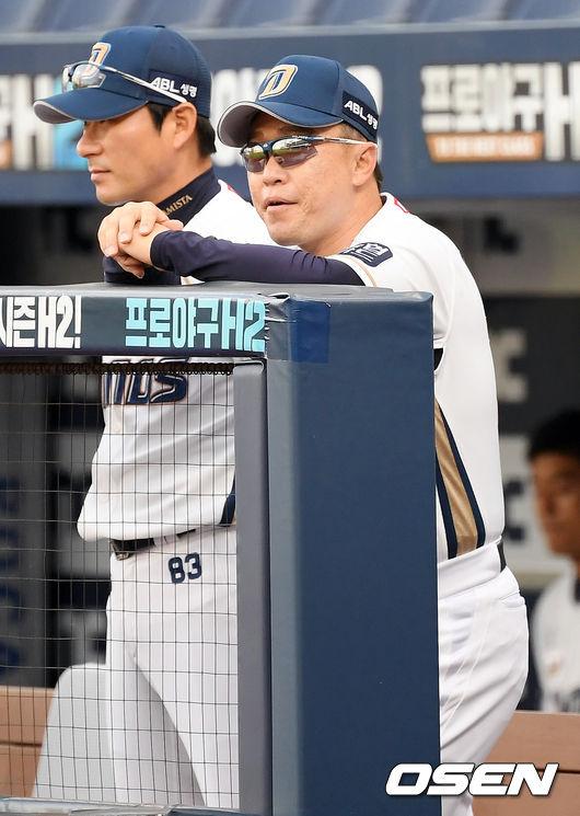 [사진]이동욱 감독,꼭 승리한다