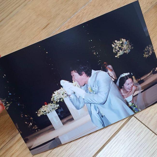 박준형♥김지혜, 오늘(3일) 결혼기념일…15년 전에도 무를 갈았어 [★SHOT!]
