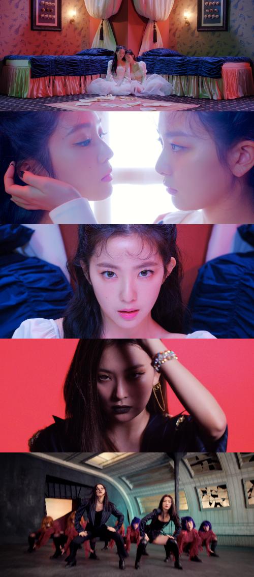 레드벨벳-아이린&슬기, 첫 유닛부터 역대급 강렬..압도적 카리스마 Monster'[퇴근길 신곡]