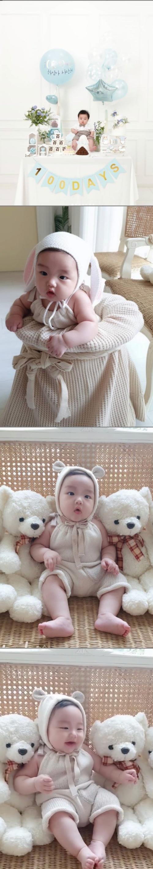 정정아, 3번 유산 끝 얻은 아들 100일 촬영에 눈물 이렇게 이쁜아기오려고..[★SHOT!]