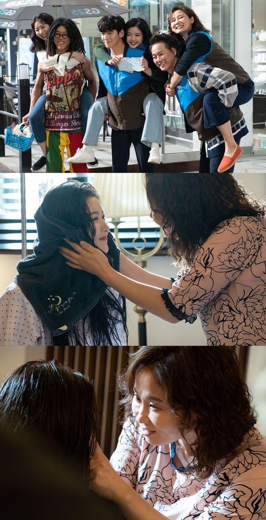 볼수록 따뜻하고 유쾌..편의점 샛별이, 김유정x지창욱 가족들 케미