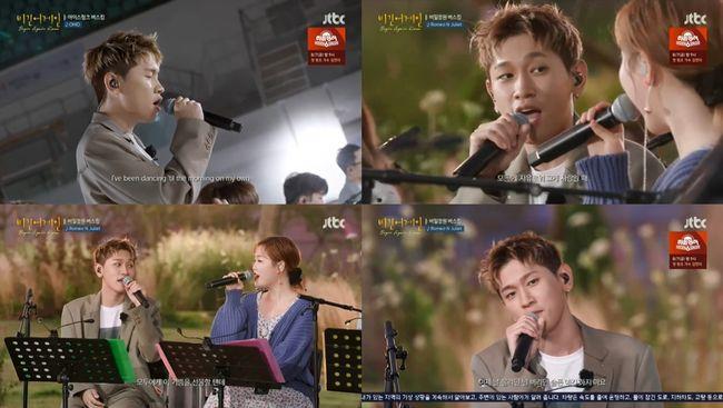 '비긴어게인' 크러쉬, 신곡 'OHIO' 방송 최초 공개..모두 춤추게 한 감성 무대