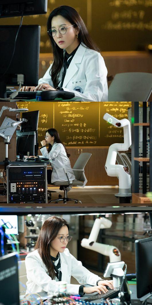앨리스 김희선, 당찬 여성과학자 변신 첫 촬영부터 완벽 몰입