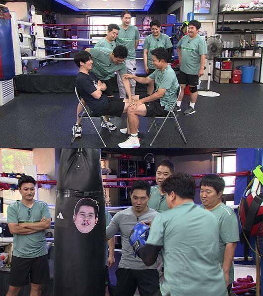 위대한 배태랑 장혁 vs 안정환, 허벅지 씨름 역대급 대결 [Oh!쎈 예고]
