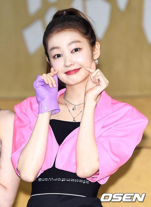 [사진]시크릿넘버(SECRET NUMBER) 레아,분홍빛 하트