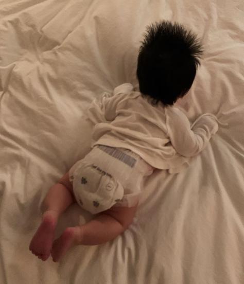 양미라, 생후 2달된 아들 뒷모습 치명적인 너의 뒤통수 [Oh!마이 Baby]