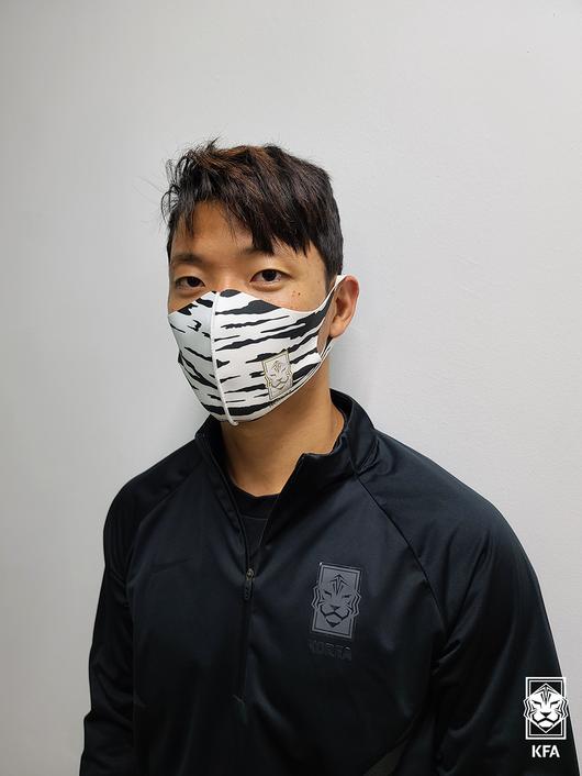 대한축구협회, 대표팀 상징 다회용 마스크 5일 출시