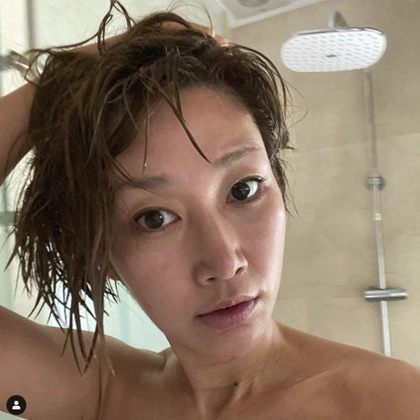 변정수, 샤워 중 셀카를 찍다니.. [★SHOT!]