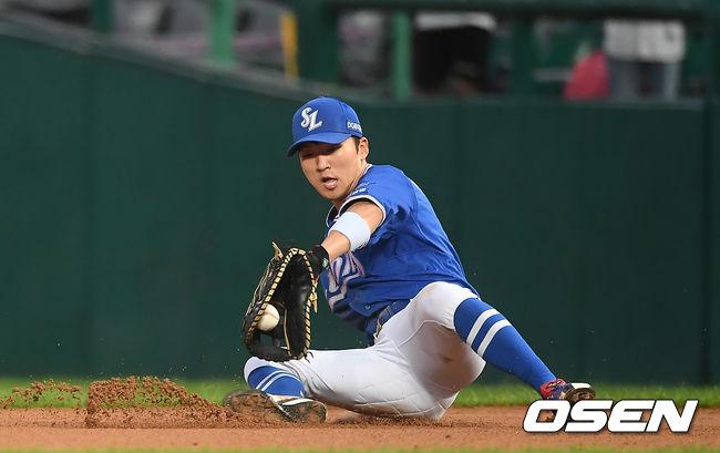 [사진]박해민,가볍게 잡아낸다