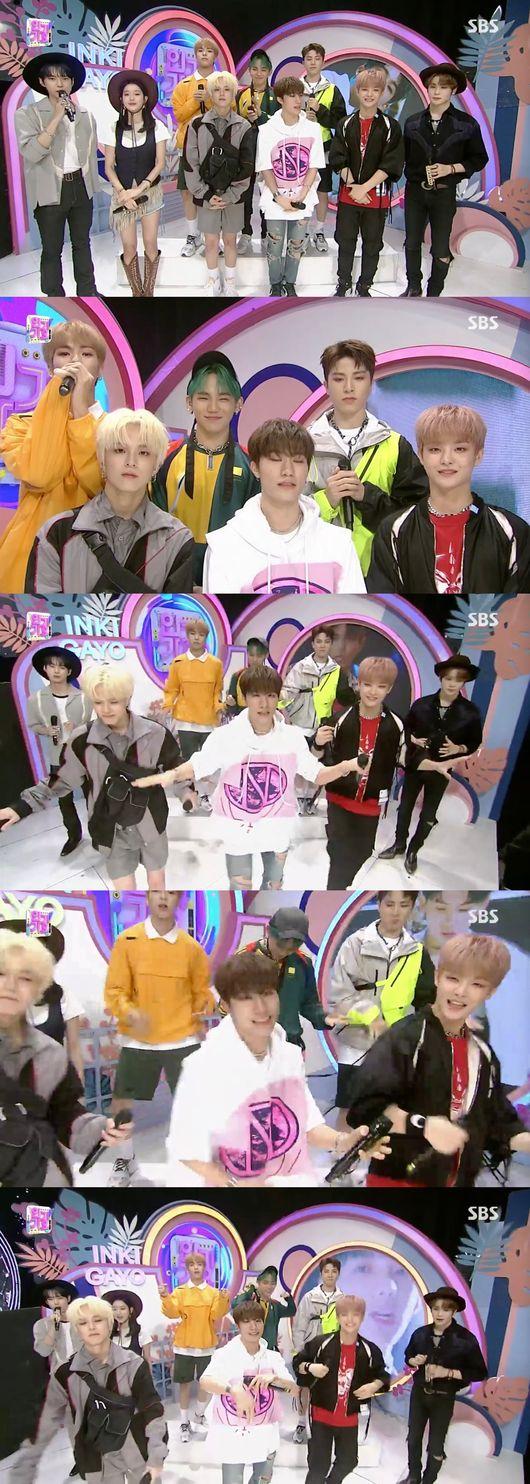 인기가요 YG 트레저 데뷔 신곡 BOY 강렬한 퍼포먼스 인상적..킬링 포인트=多 대형