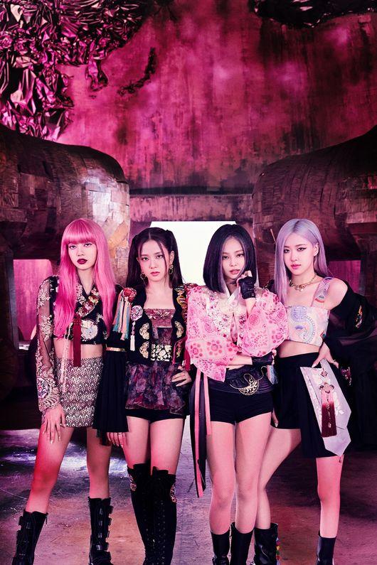 블랙핑크, 8월 걸그룹 브랜드평판도 1위..레드벨벳 2위(여자)아이들 3위