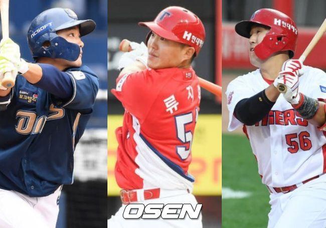 김태진,류지혁, 장영석(왼쪽부터)/OSEN DB