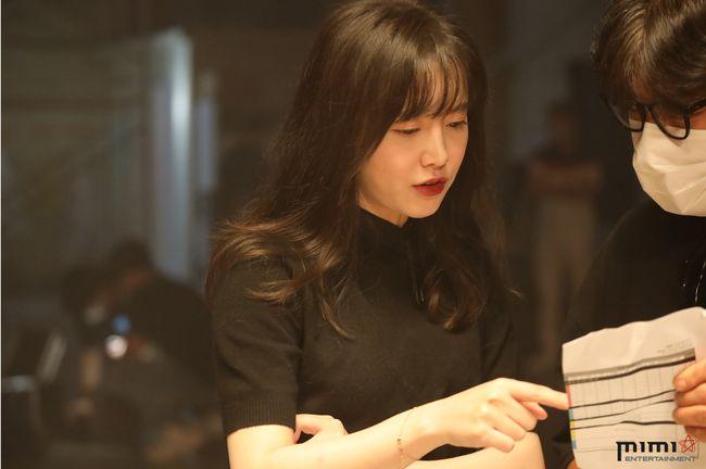 구혜선, 음악 다큐멘터리 영화 '스튜디오 구혜선' 촬영 현장 공개