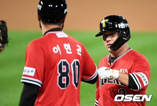 [사진]김선빈,오늘도 승리해야죠