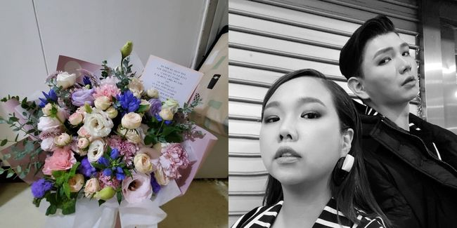 사랑해, 나의 뚱쓰뚱쓰..홍현희, ♥제이쓴 꽃다발+편지 깜짝 선물에 감동 [★SHOT!]