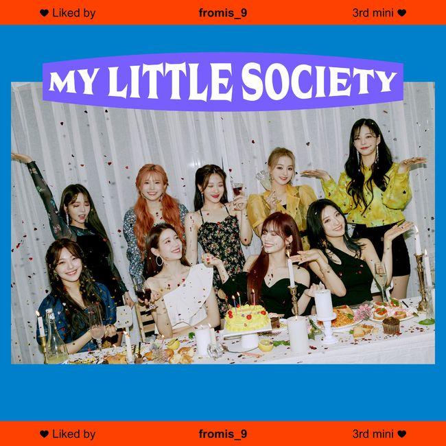 프로미스나인, 'My Little Society'로 커리어 하이..초동 자체 신기록→MV 천만뷰 돌파