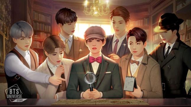 넷마블 신작 'BTS 유니버스 스토리', 글로벌 173개 국 론칭