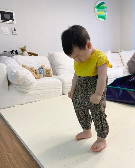 이필모♥서수연 아들 담호, 몸빼바지 패션 오마니 꼭 이걸 입혀야했습니까?[Oh!마이 baby]