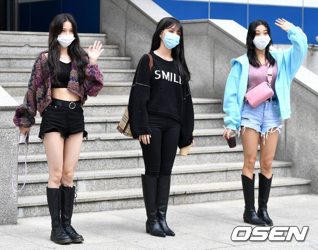 [사진]CLC 오승희-장승연-최유진, 서로 다른 매력