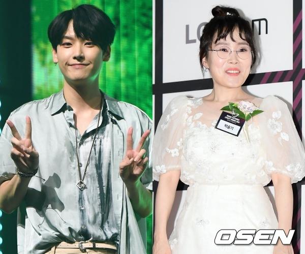 [단독] SF9 인성X박슬기, '아멍대' 레드카펫 진행..재치 입담 '기대'