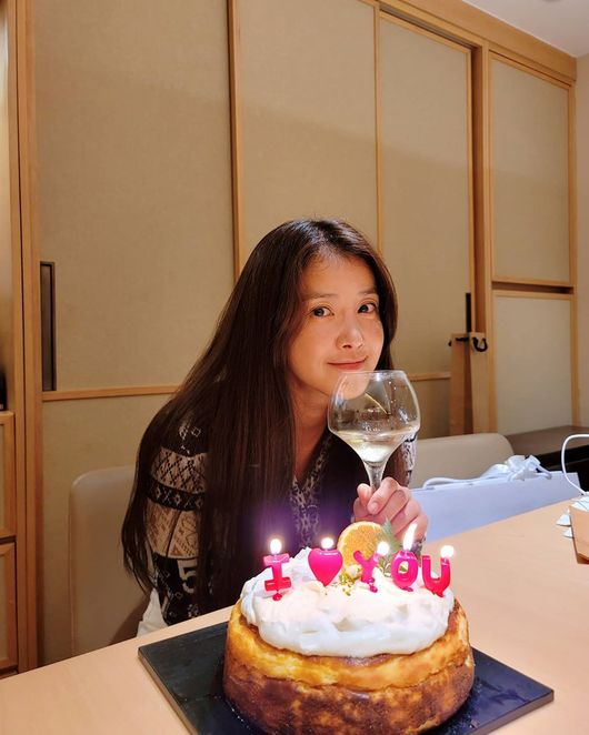 이시영, ♥조승현 대표와 결혼 3주년 자축 케이크 만들어줘서 행복♥ [★SHOT!]