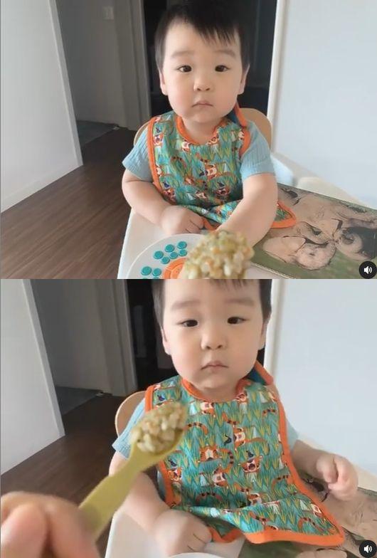 이필모♥서수연 子 담호, 아빠 쏙 빼닮은 쌍꺼풀 벌써 배우상 [Oh!마이 Baby]