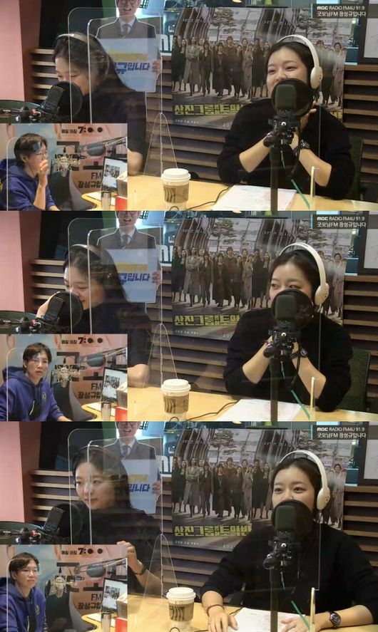 [사진=MBC 보는 라디오] '삼진그룹 영어토익반'의 고아성, 이솜이 '굿모닝FM'에 출연했다.