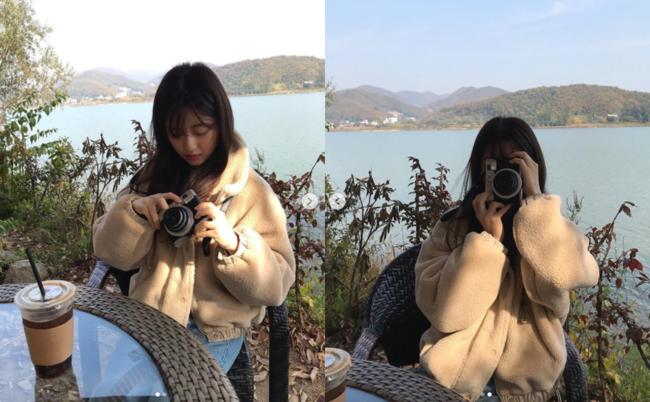 유진 딸 김현수, 펜트하우스 밖에서..도가니 소녀 다 컸네 [★SHOT!]