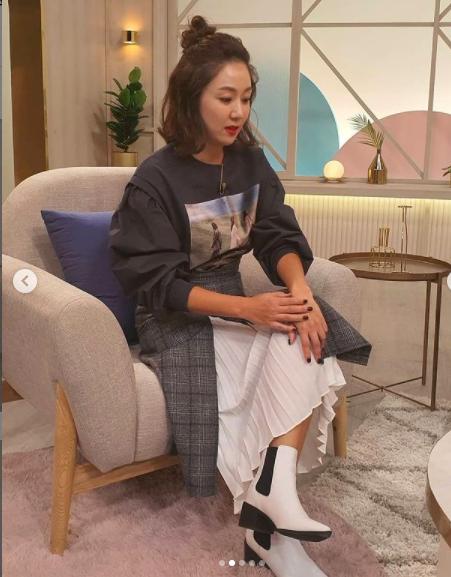 김지혜, 42세 믿기지 않는 패션센스..엄마들의 트렌드세터[★SHOT!]