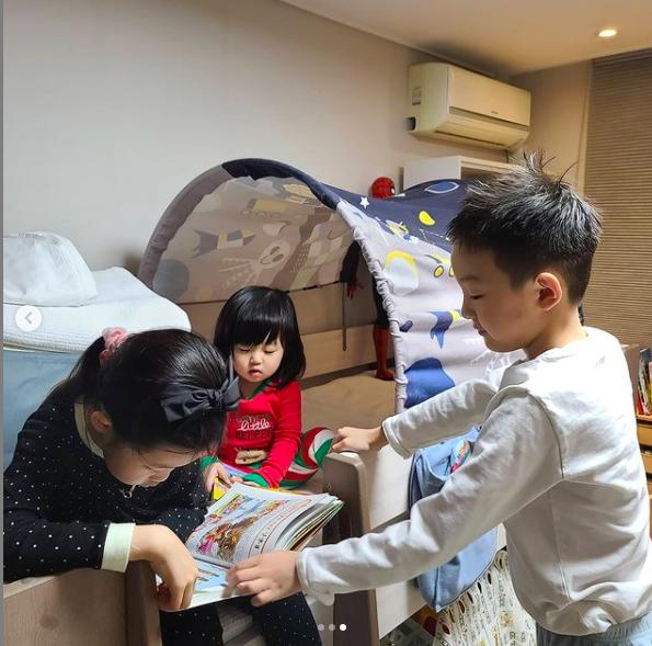 정준호♥ 이하정, 드넓은 집에서 붕어빵 아들딸과 보낸 불금[Oh!마이 Baby]