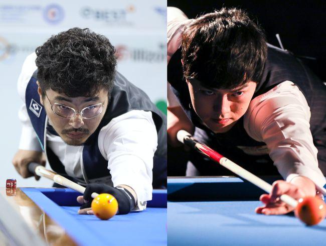 [사진]안지훈(왼쪽)과 김준태 /파이브앤식스 제공